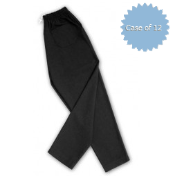 Baggy Chef Pants, Black by American Dawn