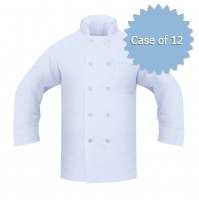 Chef Coat, 100% Spun Poly Twill