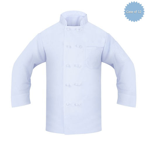 Executive Chef Coat, Spun Poly, Twill