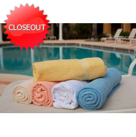 Pool Towels Solid Colors-Economy
