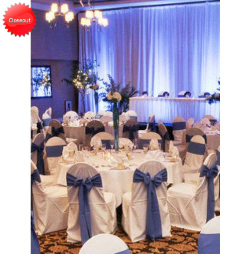 "80"" Round MagicSpun Table Linen"