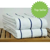Welspun Weft Stripe Pool Towels